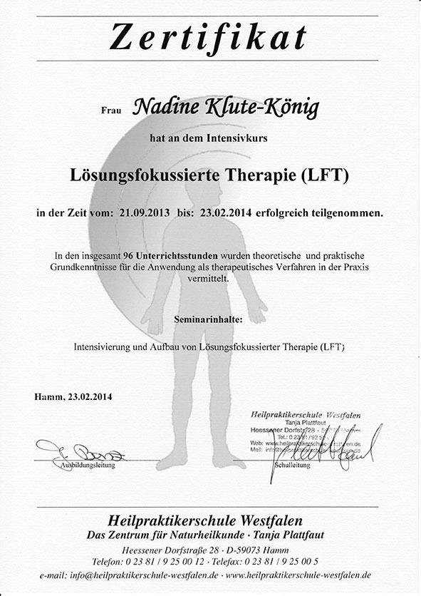 LFT Intensivierung