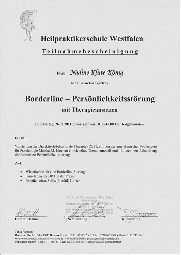 TNB - Borderline